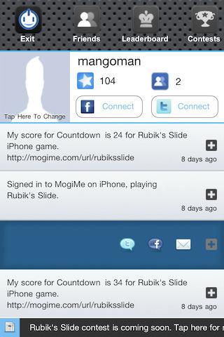 Screenshot Rubik's Slide™